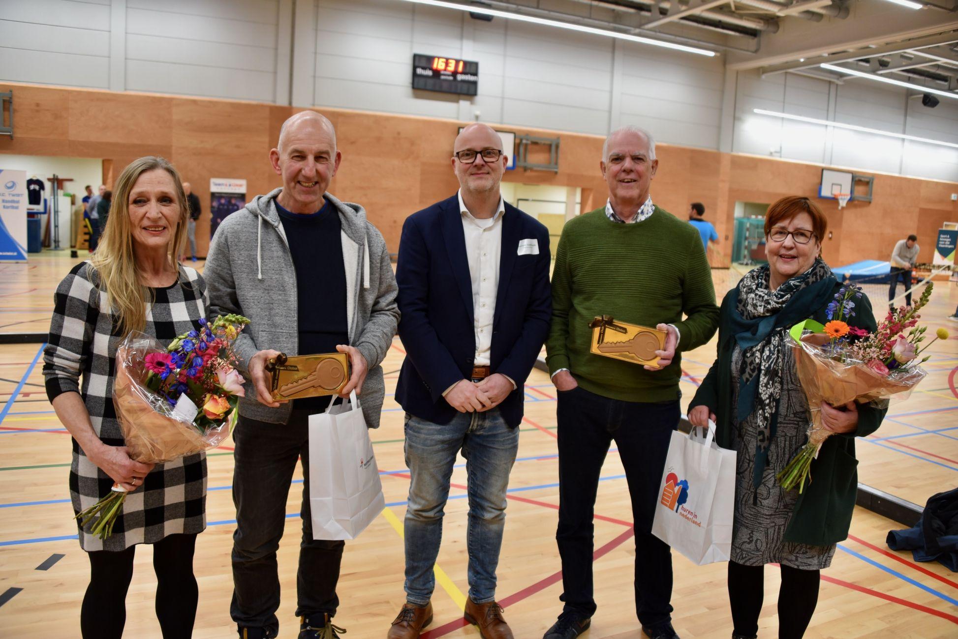 Nieuwe sporthal en woningen Erasmusplein geopend