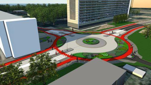 Rotonde Zwanensingel vrijdag geopend