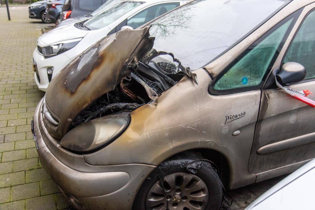 Tweede autobrand in Westwijk