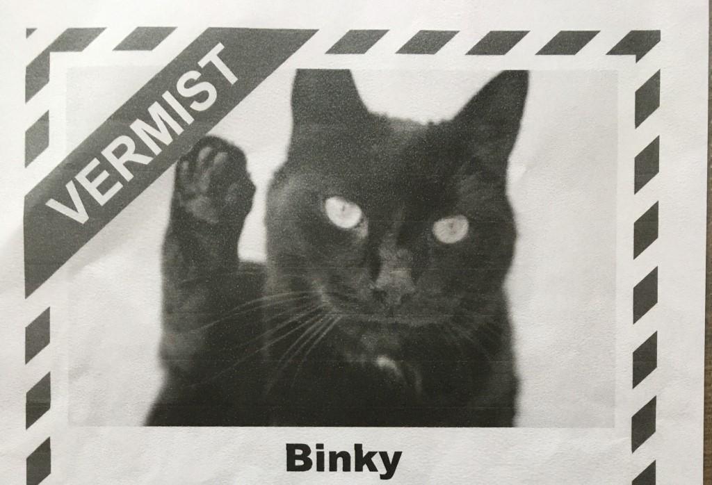 Vermist: Binky
