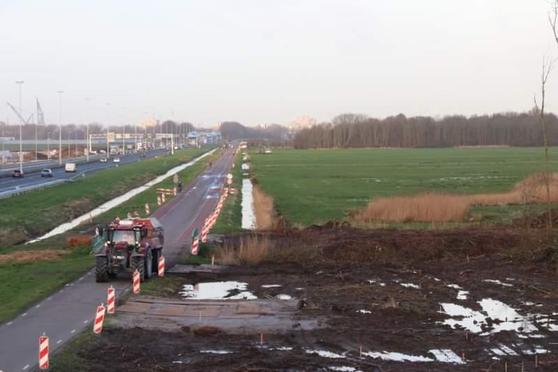 Broekpolderweg komende maanden afgesloten