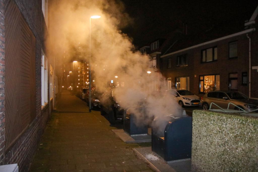 Gezocht: verdachte containerbranden