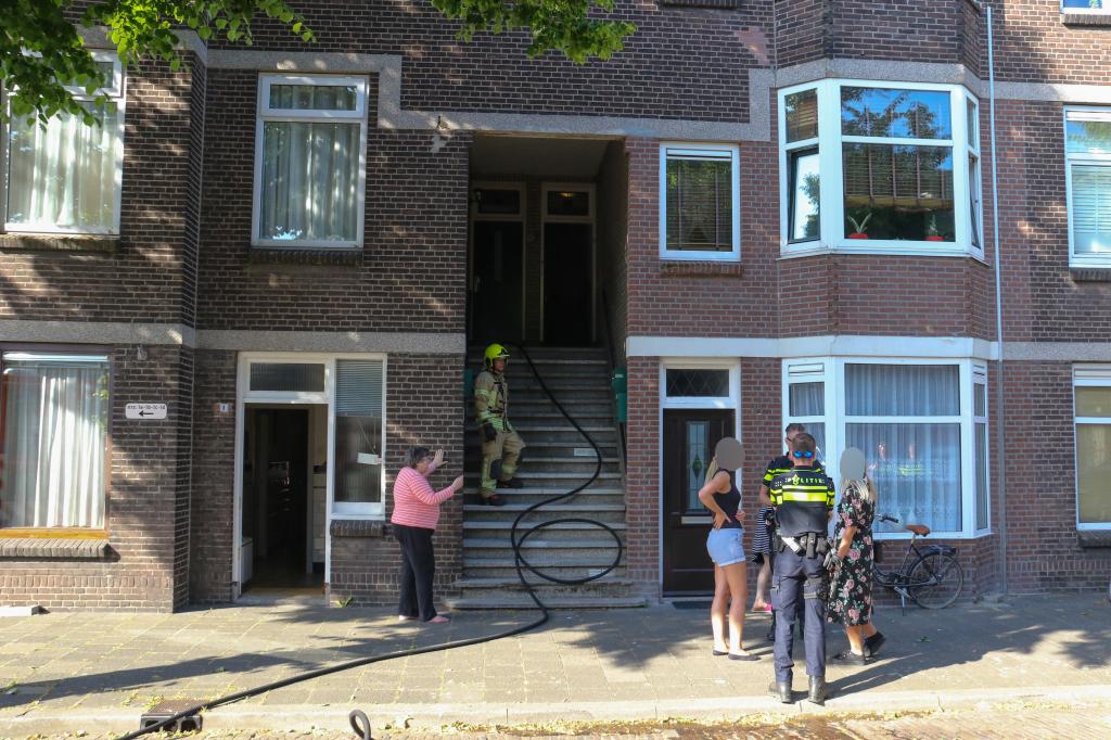 Keukenbrand in Groen van Prinstererstraat