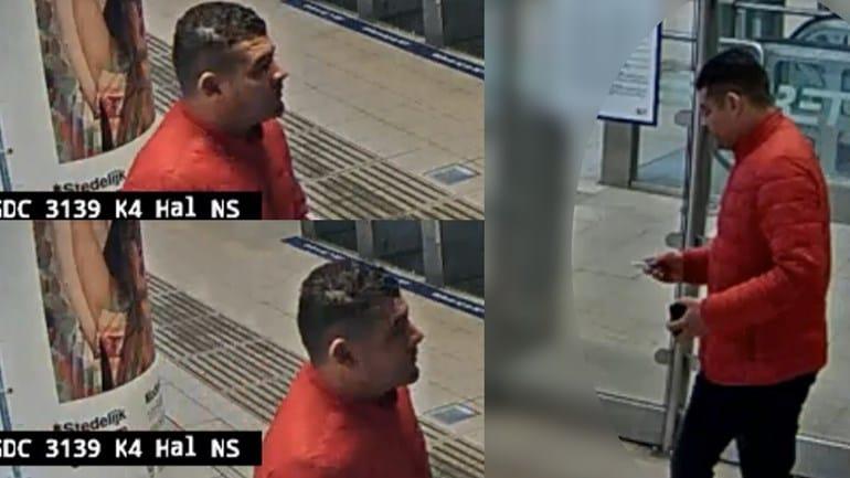 Gezocht: Inbreker met rode jas