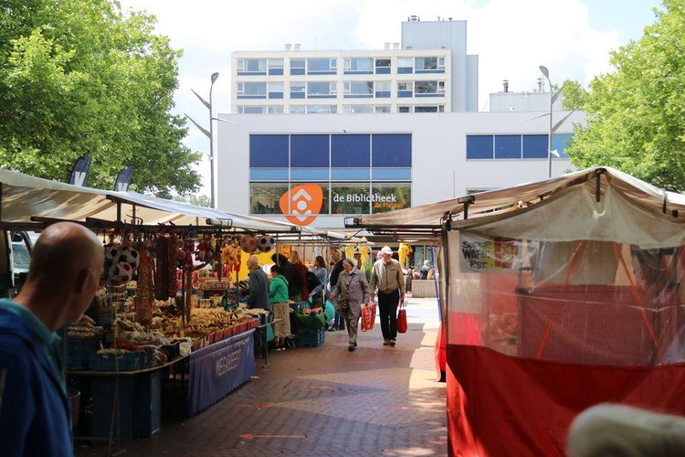 Markt weer terug op oude stek