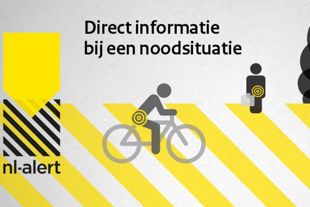 Schrik niet: NL-Alert stuurt maandag een controlebericht