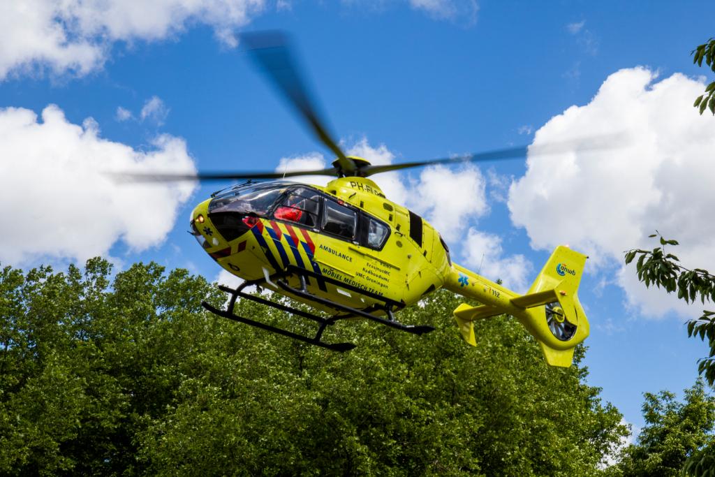 Traumahelikopter ingezet op Holysingel
