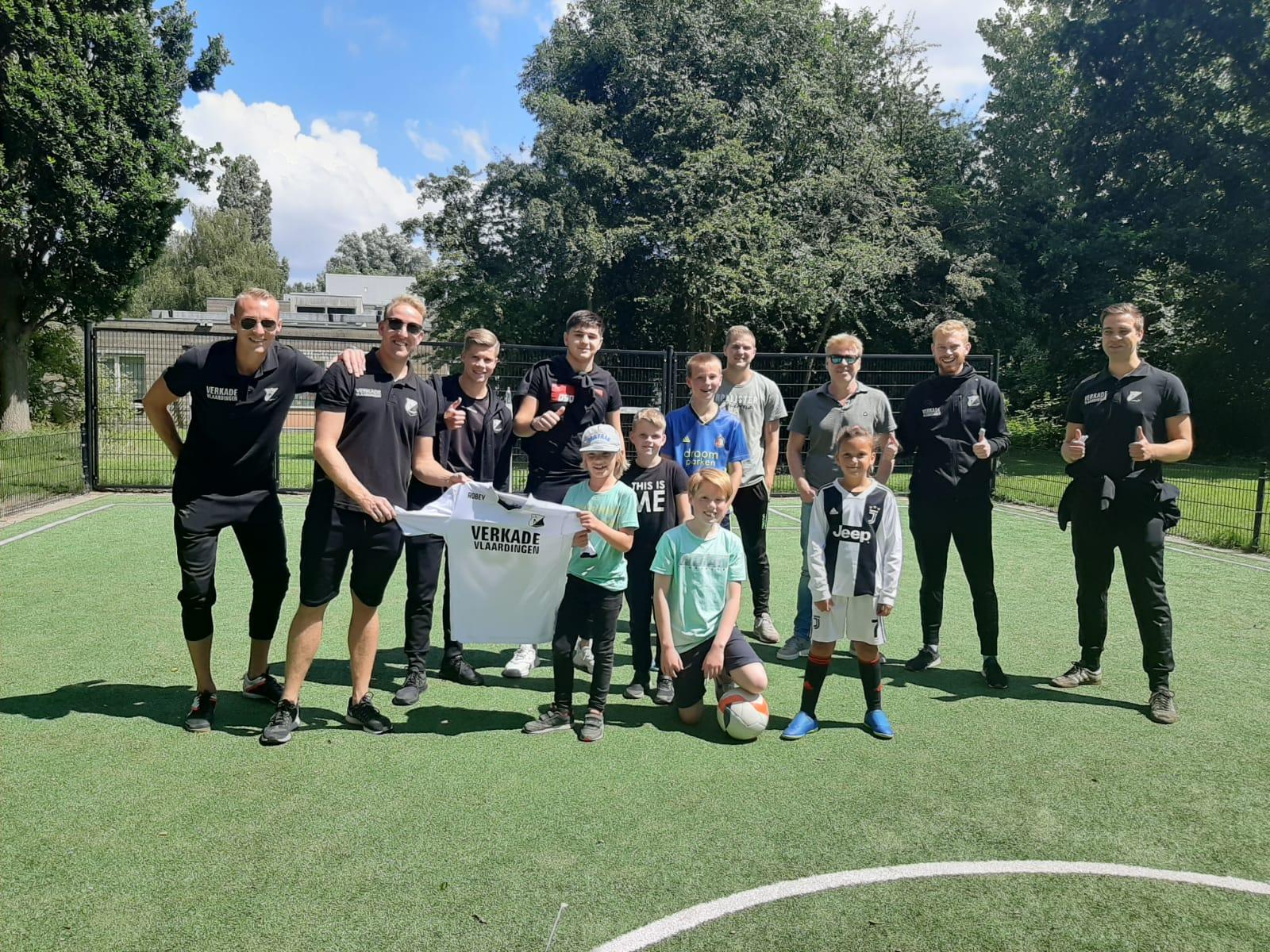 DVO'32 vermaakt Vlaardingen op voetballoze zaterdag