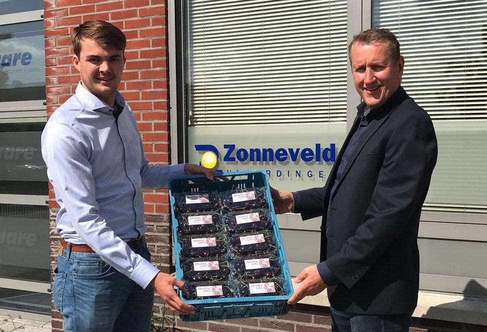 Healthy Gifts voor alle werknemers op 't Scheur/Koggehaven