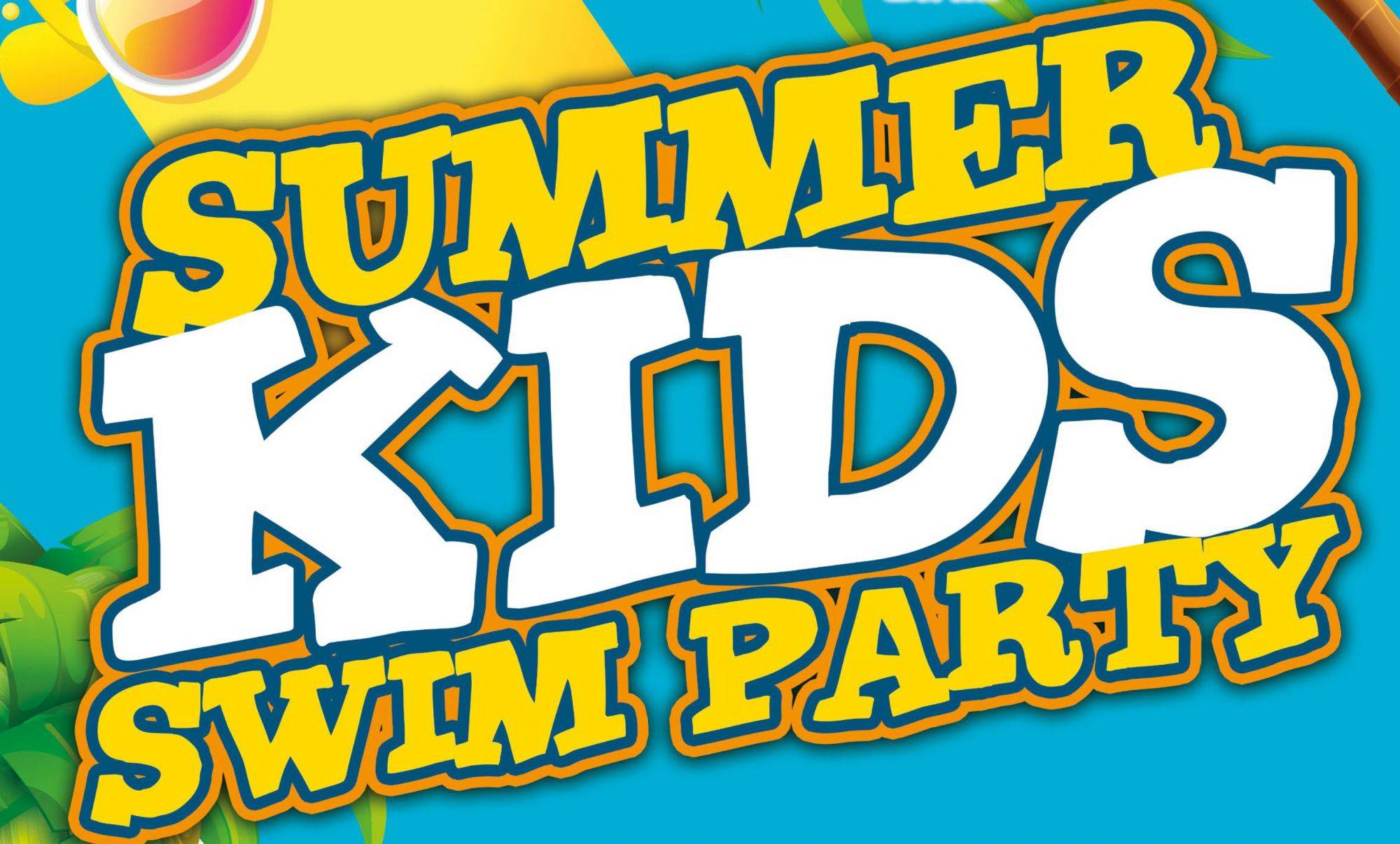Summer Kids Swim party in De Kulk