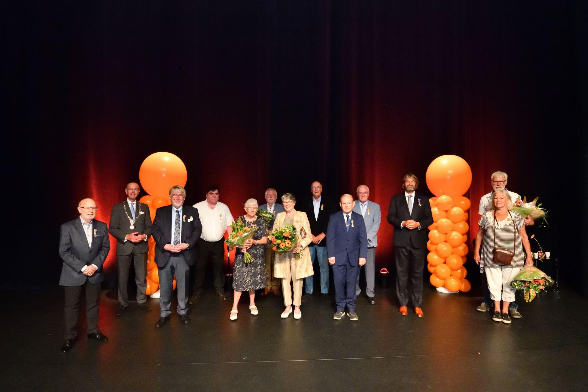 Koninklijke onderscheidingen lintjesregen 2020 uitgereikt