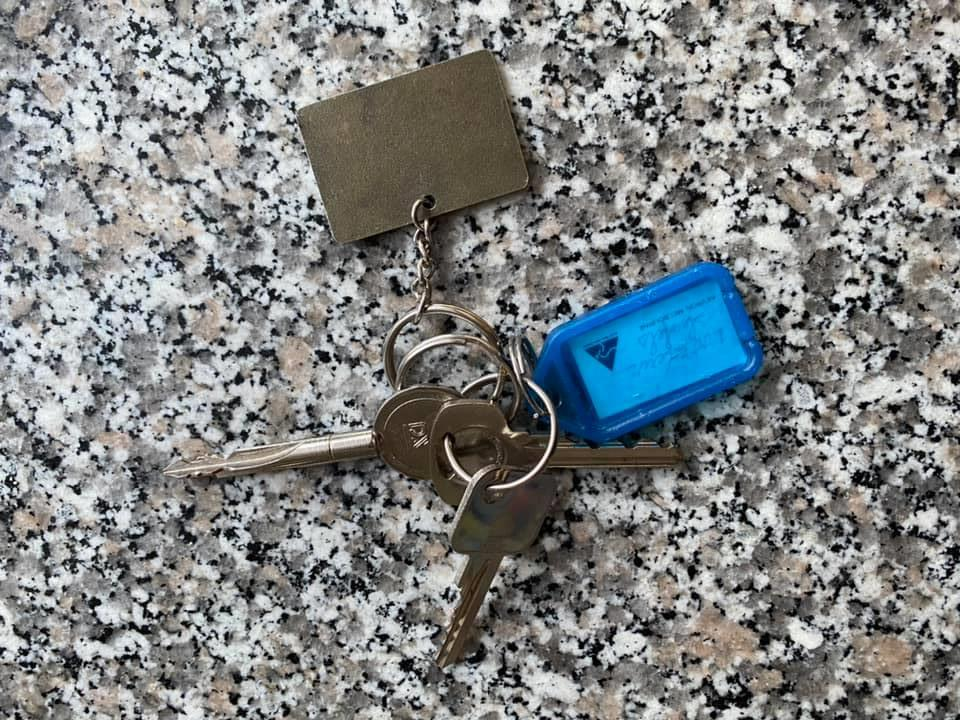 Van wie is deze sleutelbos?