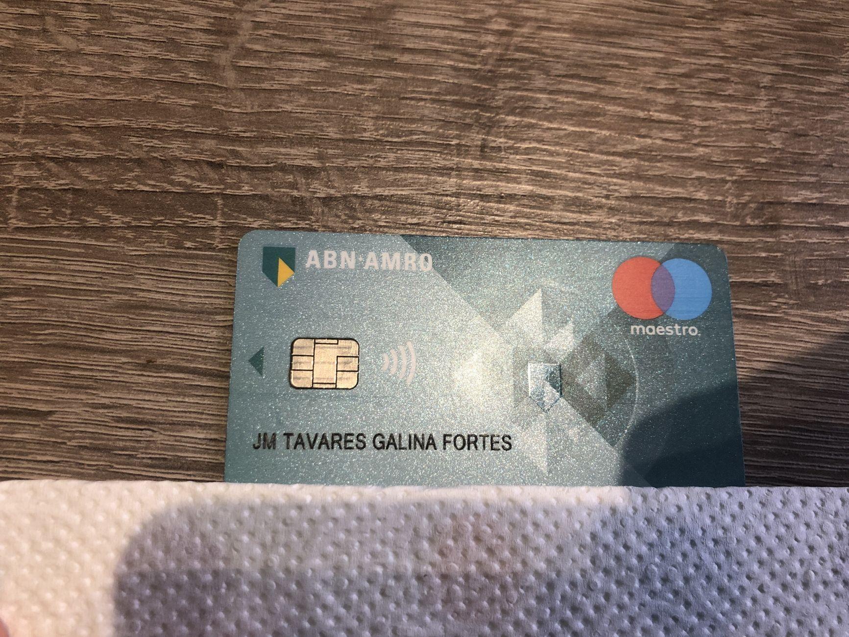 Bankpasje gevonden