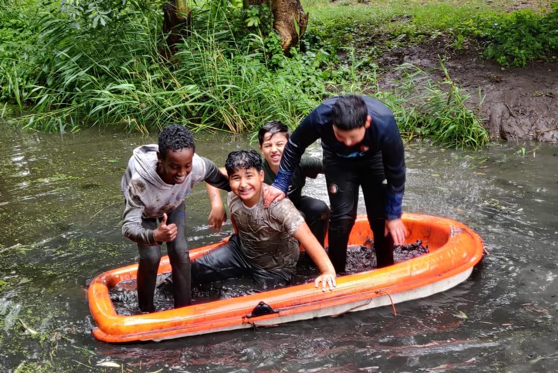 Survival tijdens Corona met IKC De Wereldwijzer
