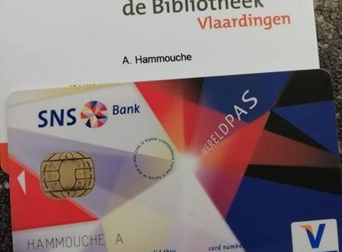 Bieb- en bankpas gevonden