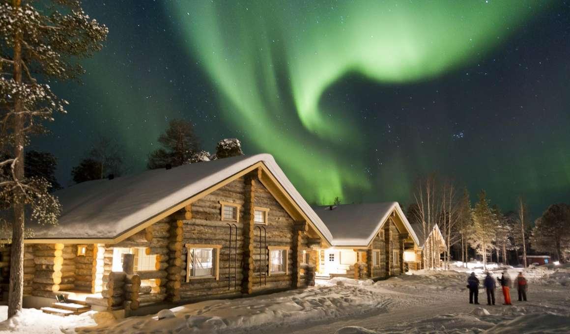 De witte wereld van Fins Lapland