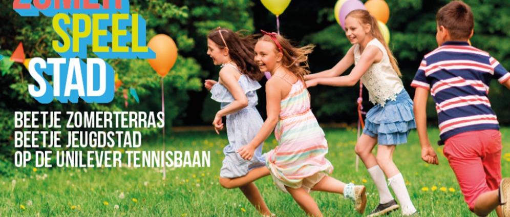 Zomerterras: een week lang een kinderfeest voor alle kinderen!