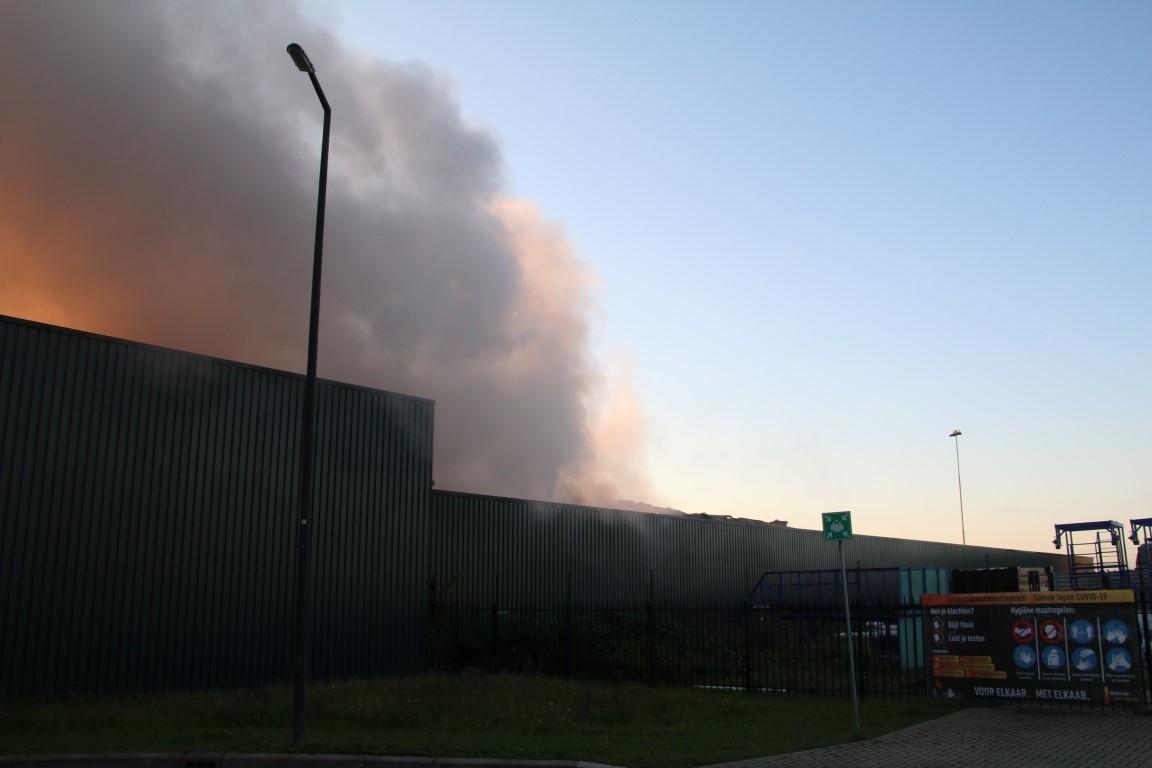 Russische onderzeeër in brand bij Koggehaven