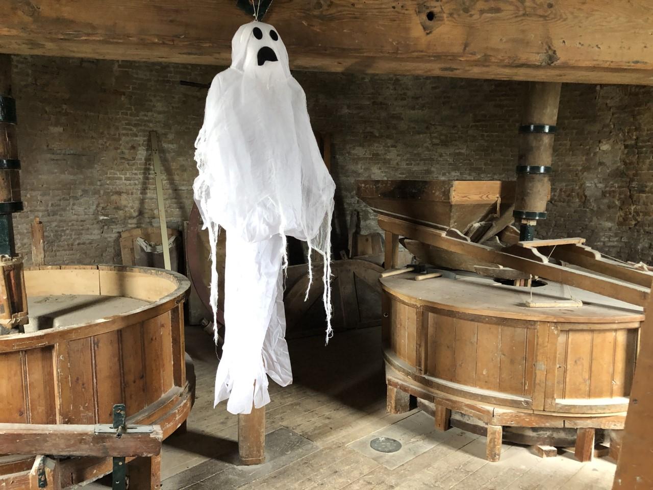 Griezelen met Halloween in de molen