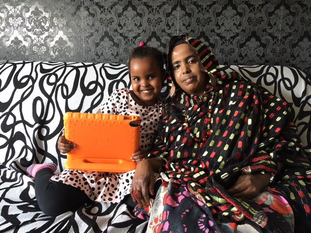Aanzet gaat Samen Digi-TAAL met iPads
