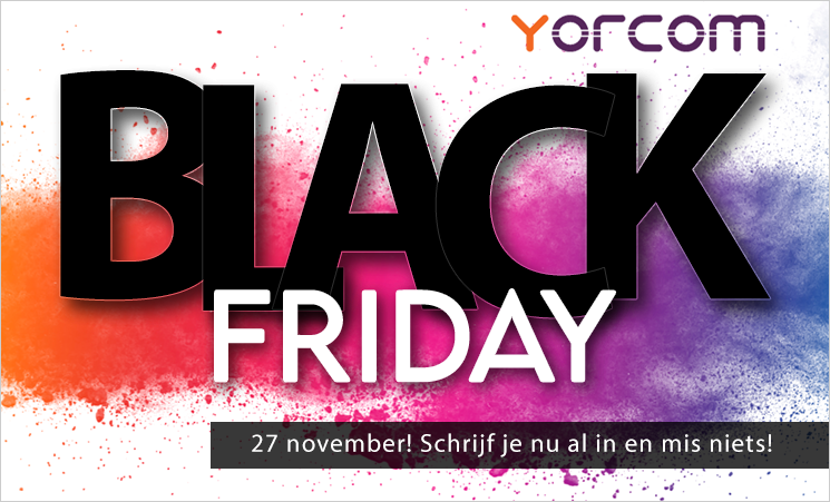 Black Friday bij Yorcom!