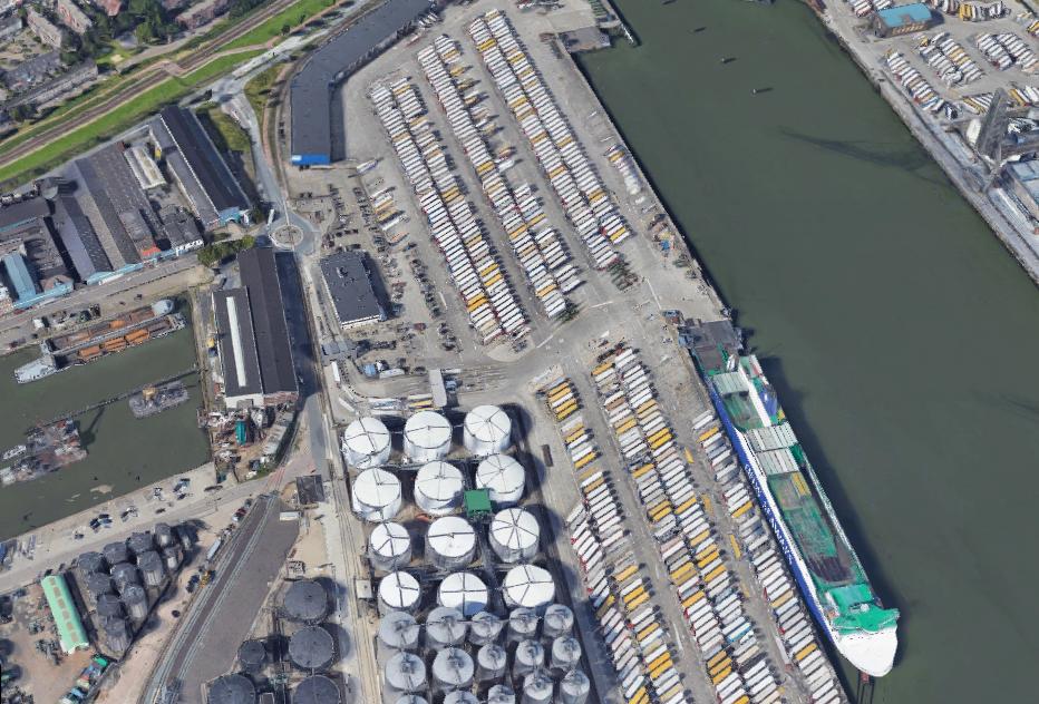 DCMR en DFDS maken afspraken over geluidsoverlast