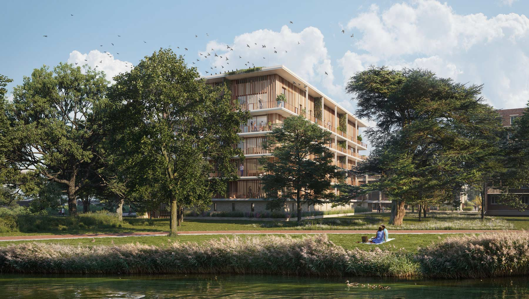 Overeenkomst voor 179 nieuwe woningen op terrein Valkenhof