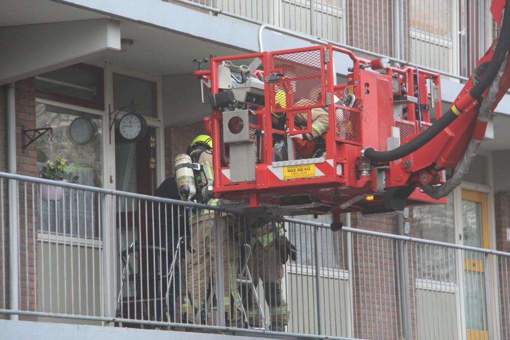 Politie verhoort verdachte van brand Aalscholverlaan