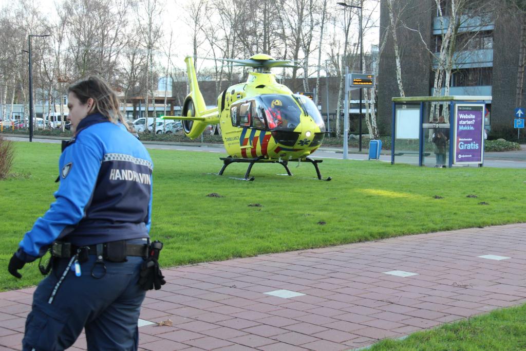Traumaheli naar Vlaardingen voor incident in woning