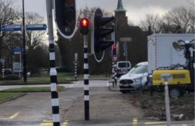 Leefbaar Vlaardingen klaagt over te laag verkeerslicht