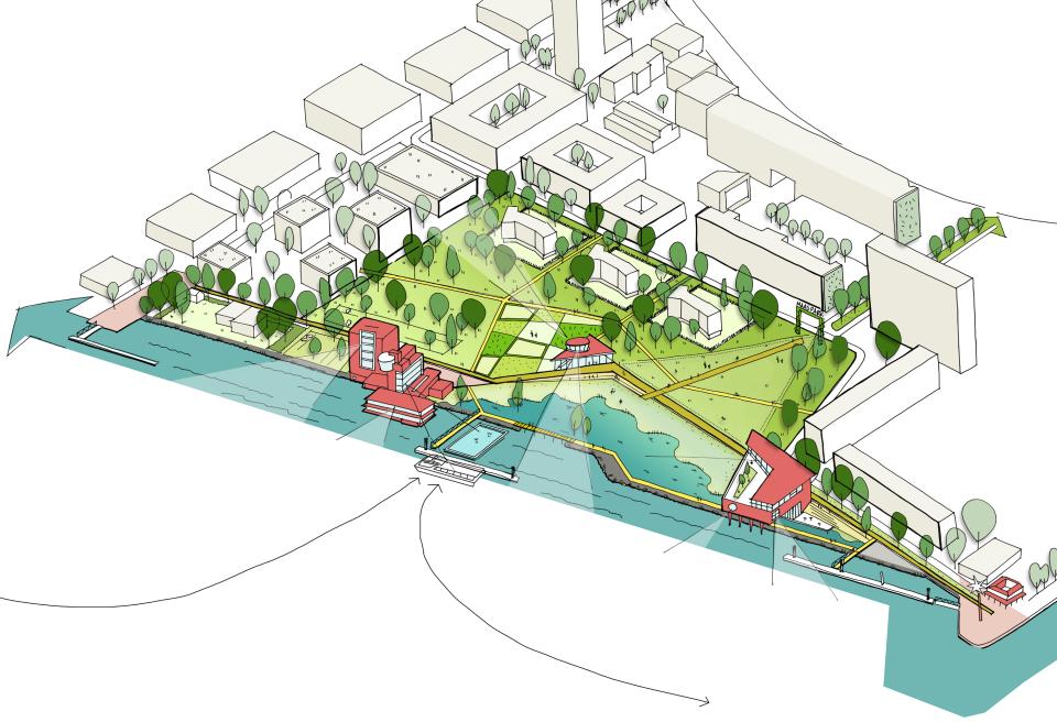 Buurtbewoners niet blij met ambitieus 'Deltaplan' Maaspark