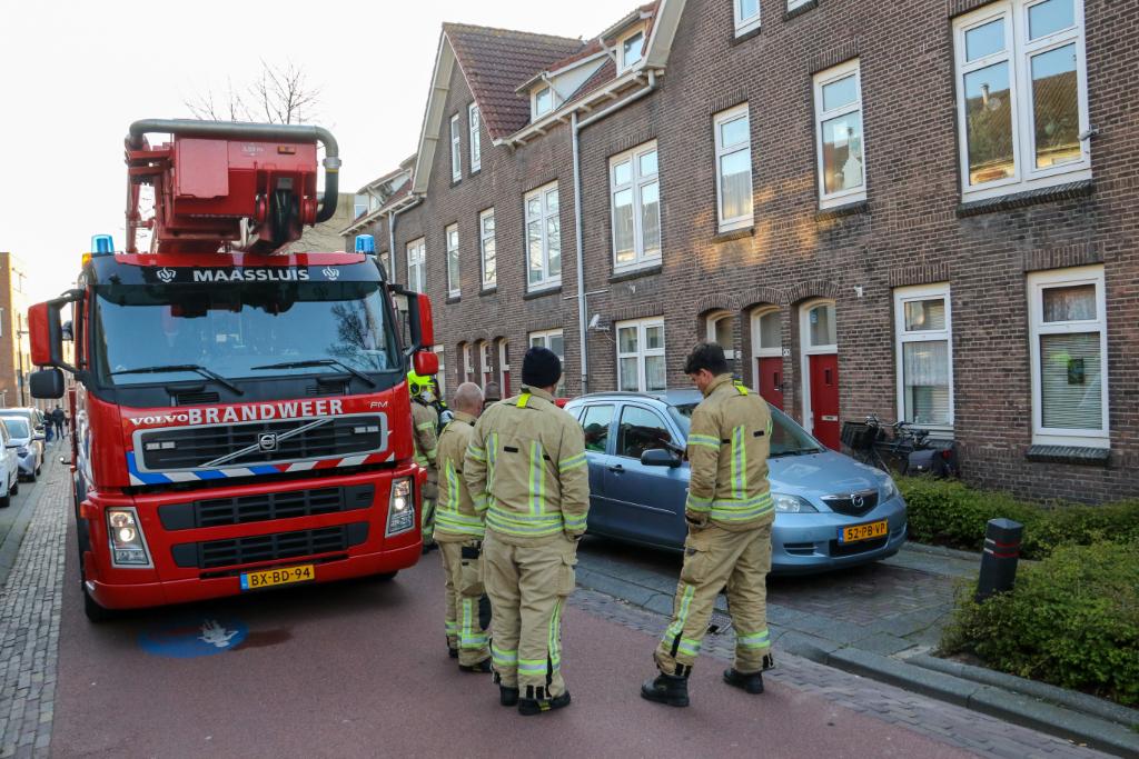 Straat vol brandweer na valse melding woningbrand