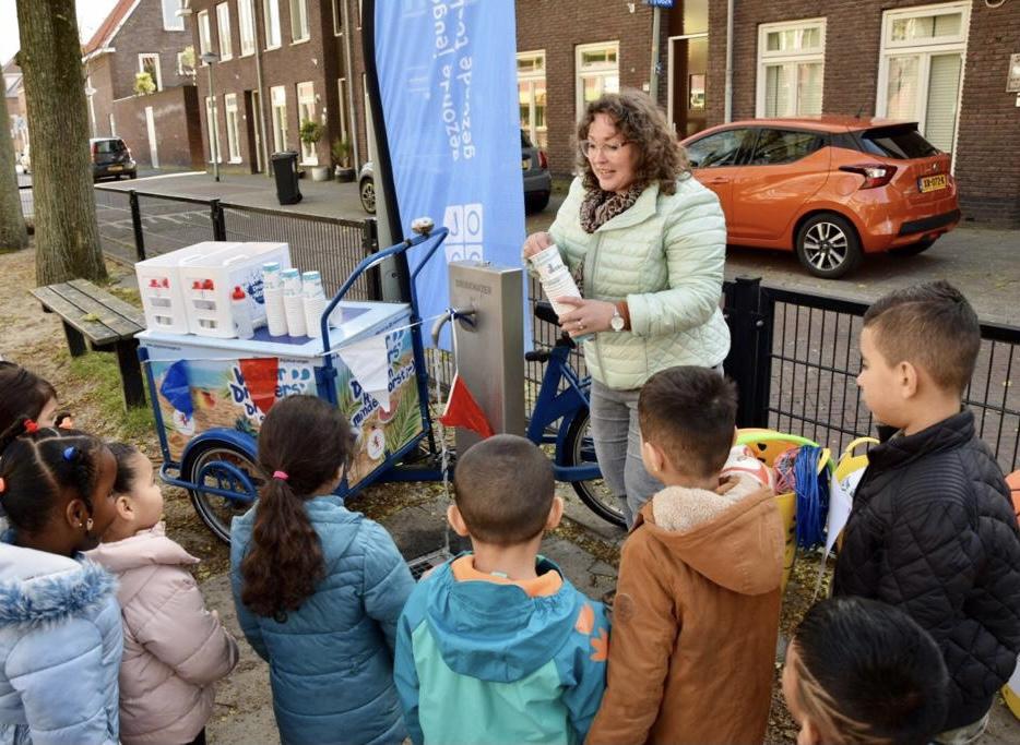 IKC Erasmus opent watertappunt