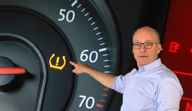 Richard en het bandenspanningslampje