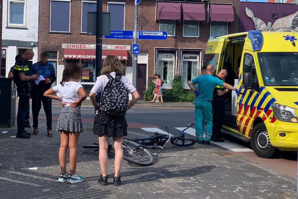 Fietser gewond bij aanrijding Markgraaflaan