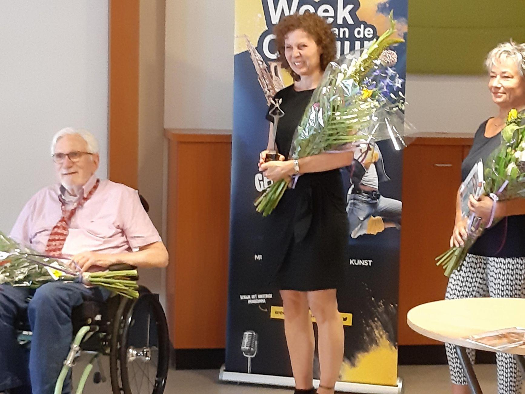 Prijsuitreiking Schrijfwedstrijd de Bibliotheek de Plataan