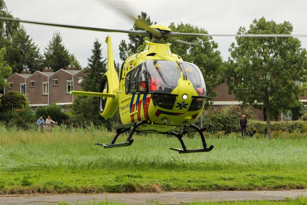 Traumahelikopter voor kind in nood