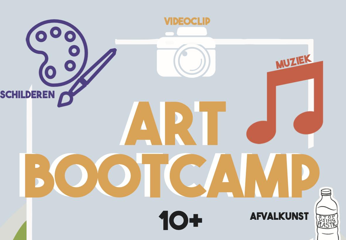 Art Bootcamp in Vlaardingen