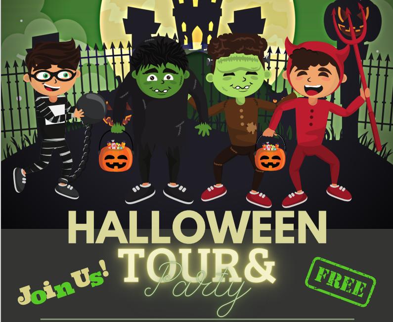 Halloween Tour en Disco!