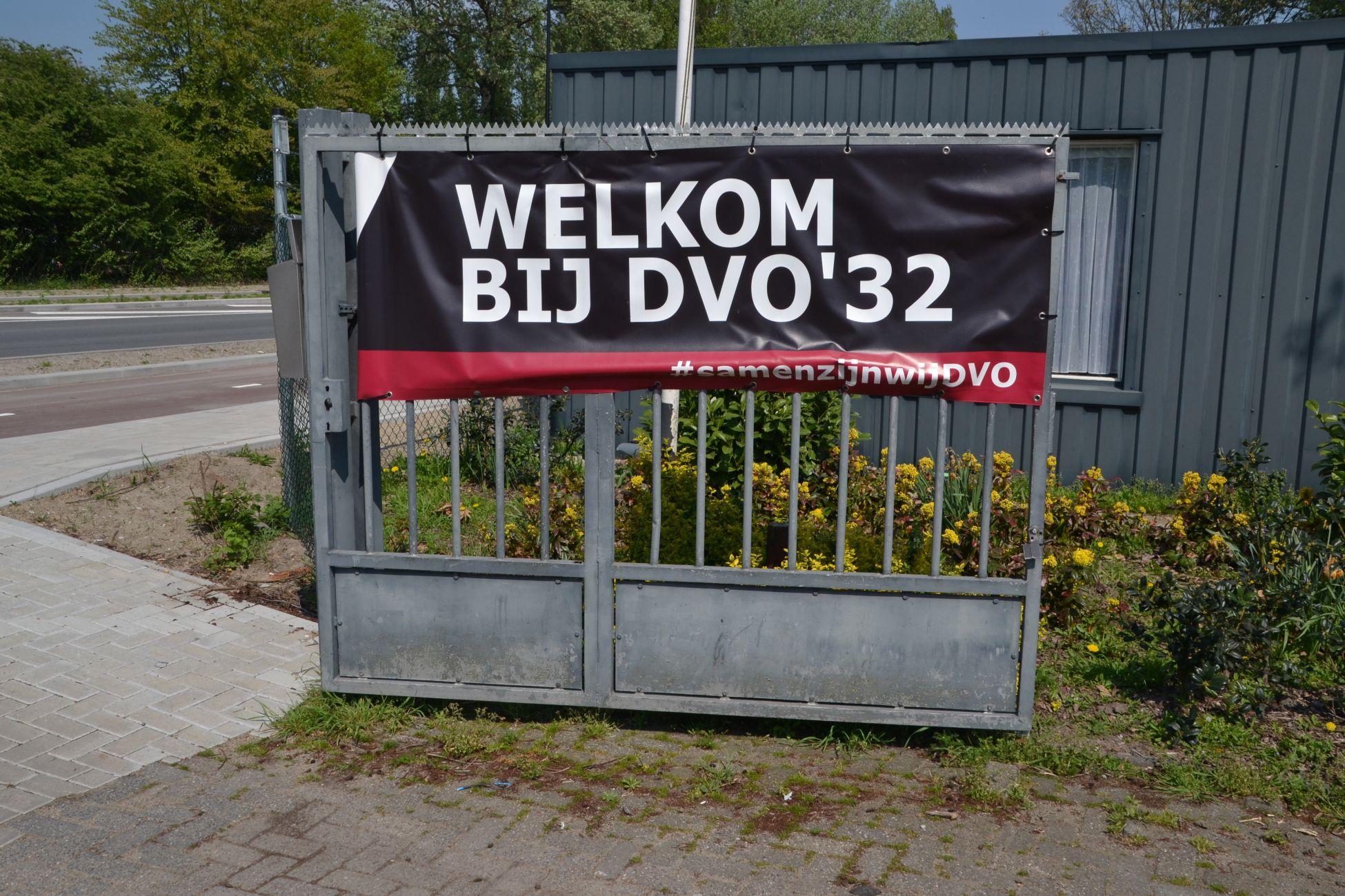 Ruime oefenzege DVO'32 op Maasdijk