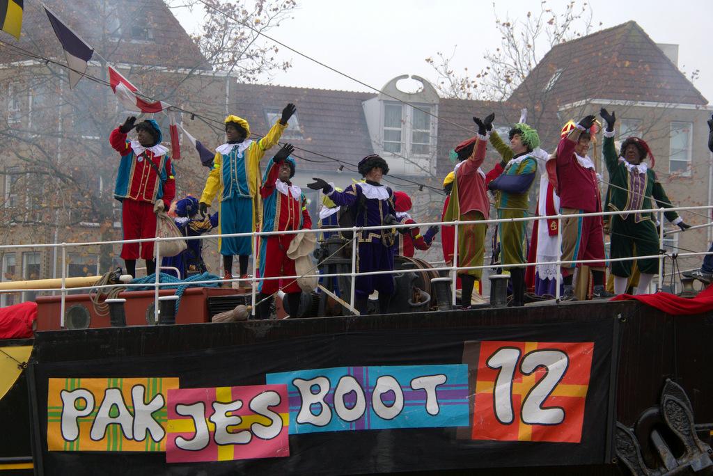 Protest Kick Out Zwarte Piet aangekondigd bij gemeente
