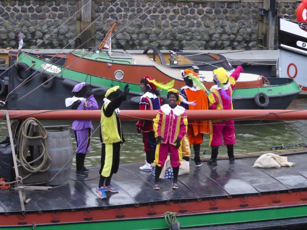 Vakken toegewezen aan demonstranten Zwarte Piet