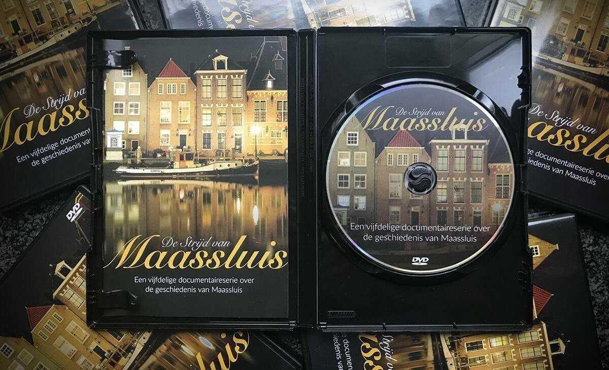 Strijd van Maassluis op dvd