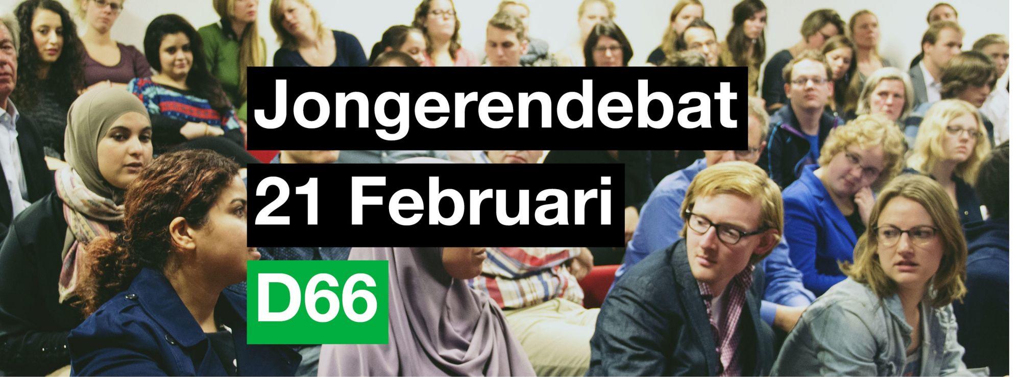 D66 organiseert jongerendebat in De Waker