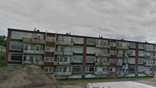 Balkons Da Costaplein verboden gebied
