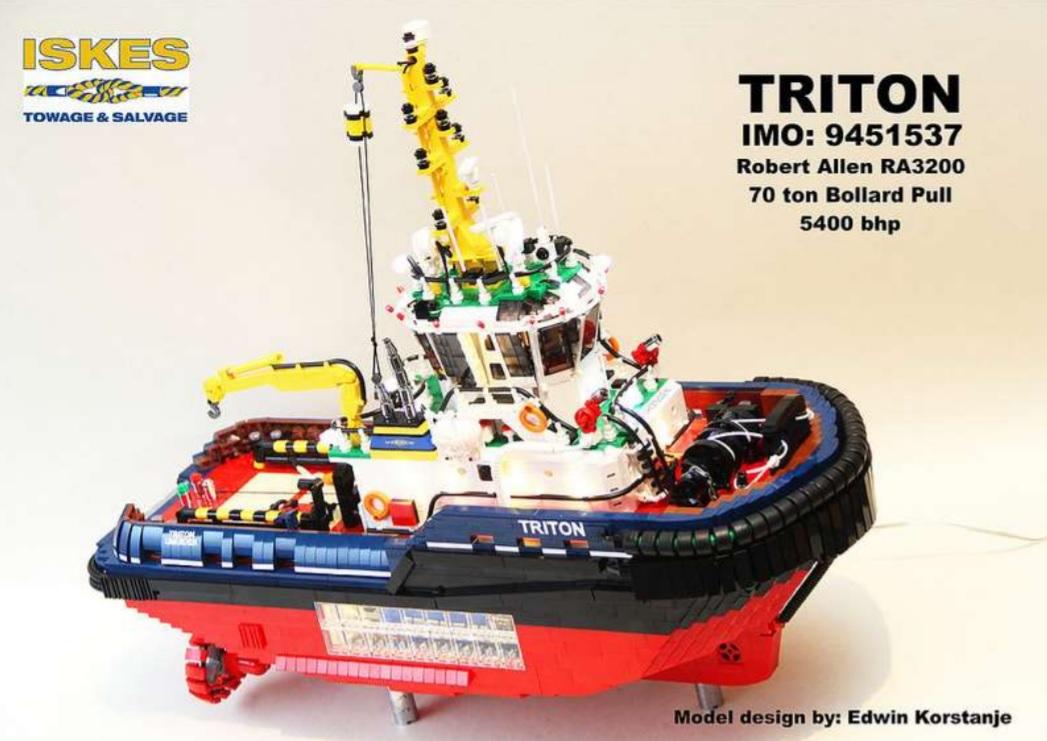 Sleepvaartmuseum schrijft LEGO-wedstrijd uit