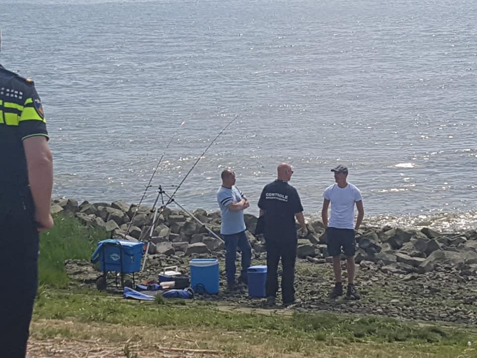 104 vissers gecontroleerd op vergunningen