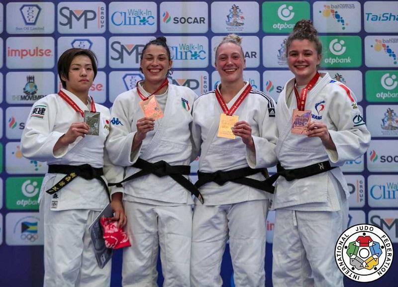Margit de Voogd wint brons bij WK judo