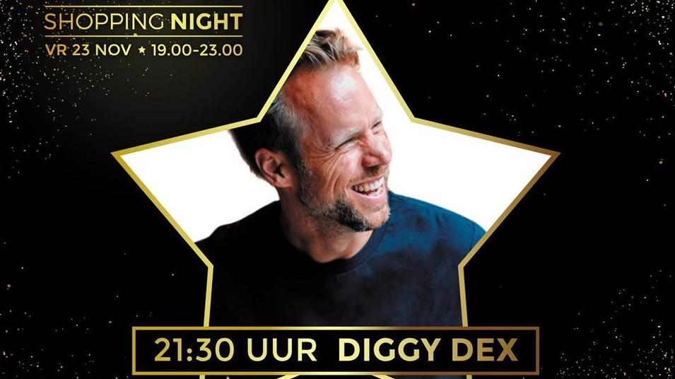 Diggy Dex geeft show in Koningshoek