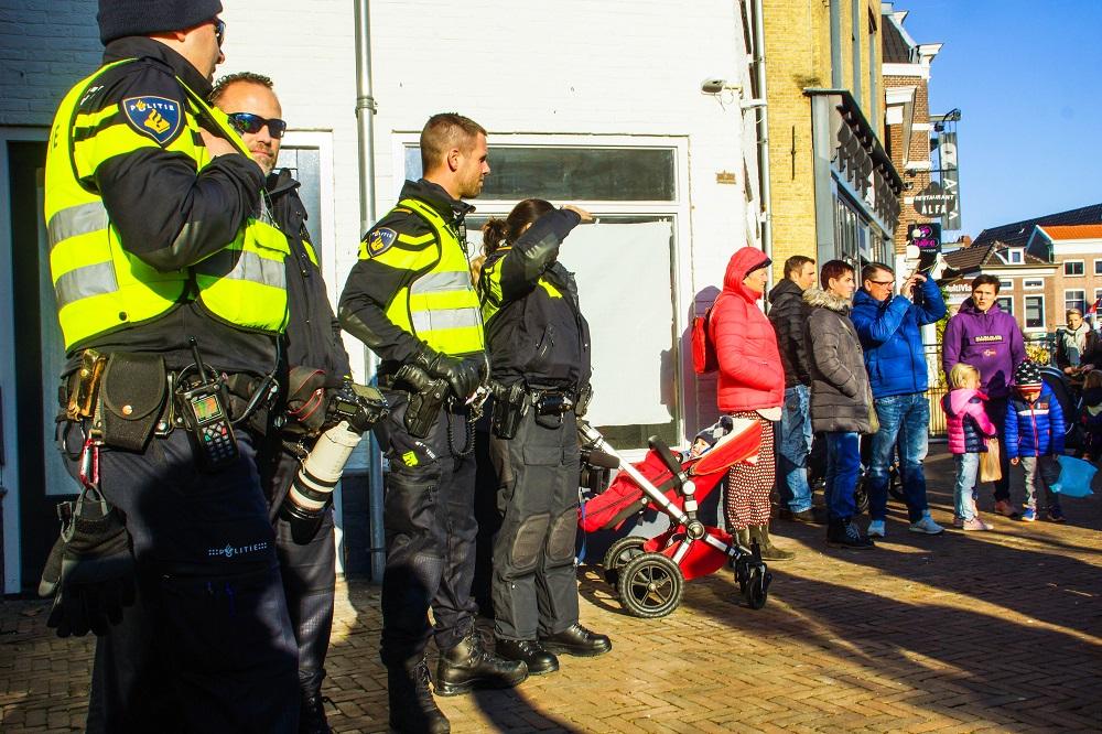 Demonstranten komen niet opdagen